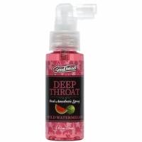 Спрей для минета Doc Johnson GoodHead DeepThroat Spray – Watermelon 59 мл для глубокого минета