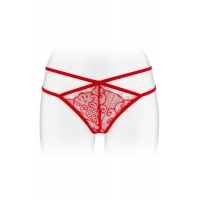 Трусики-стринги Fashion Secret MYLENE Red с двойной линией бедра
