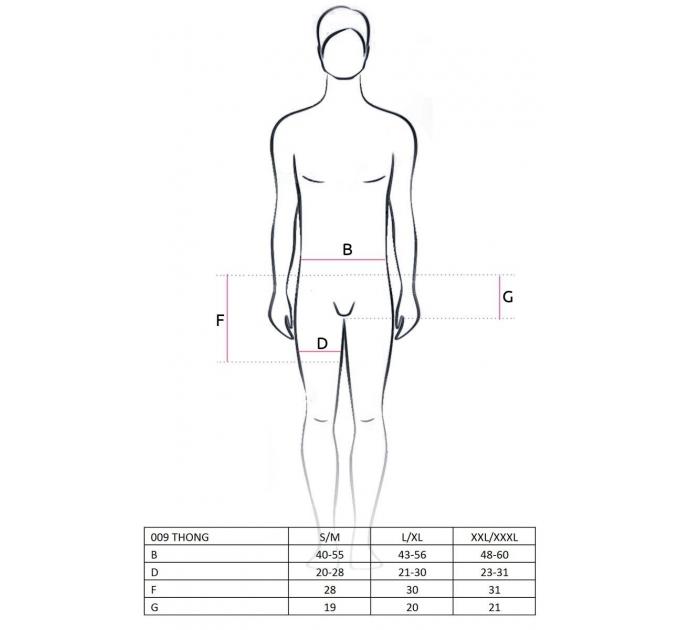 Мужские шорты с фиолотовым гульфиком Passion 009 THONG violet XXL/XXXL