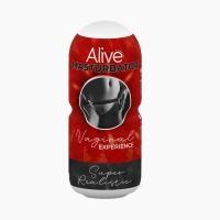Мастурбатор-вагина Alive Vaginal Experience RED