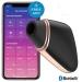 Вакуумный клиторальный стимулятор Satisfyer Love Triangle Black с управлением через интернет