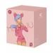Вакуумный стимулятор с вибрацией KisToy Miss UU Pink, игрушка 2-в-1