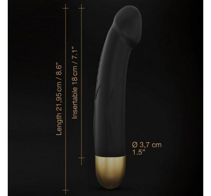 Вибратор Dorcel Real Vibration M Gold 2.0, диам 3,7см, перезаряжаемый, для точки G