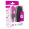Мини вибромассажер PalmPower Pocket с чехлом на молнии, водостойкий, перезаряжаемый, длина 9 см